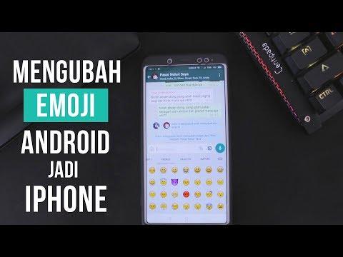 Cara Mudah Mengubah Emoji Android Menjadi iPhone - Tanpa Root