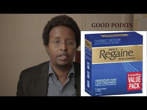 Regaine (Rogaine) for hair loss - pharmacist review