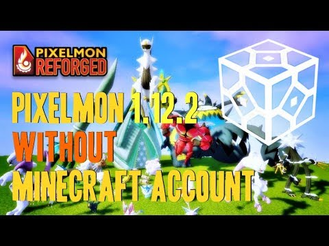 How to get Pixelmon Without Minecraft Account - download and install Pixelmon Reforged Mod 1.12.2