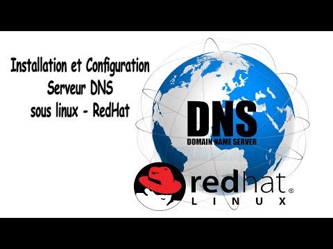 Installation et Configuration Serveur DNS sous linux - RedHat