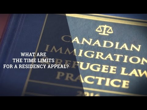 What Are The Limits For A Residency Appeal?
