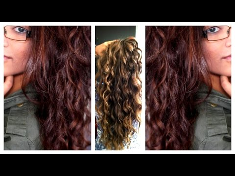 How To Curl Your Hair Without Heat !