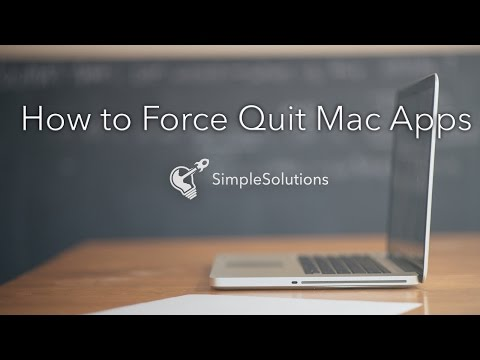 How To Force Quit Mac Applications