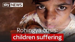 Rohingya crisis: children suffering