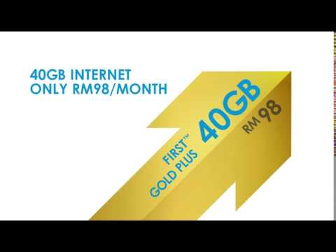 New Celcom FIRST™ GOLD PLUS