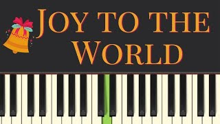 Easy Piano Tutorial: Joy To The World, With Free Sheet Music