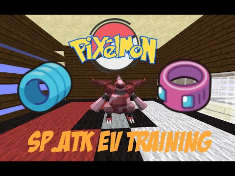 Pixelmon: Super Fast Ev Training (Sp.Atk Sweeper)