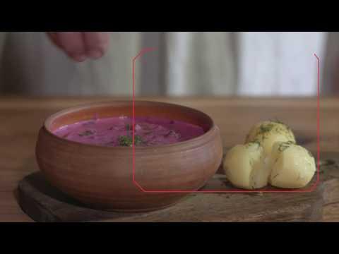 How to make Cold Beet Soup. Localtaste.lt