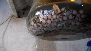 Серебро из контактов Серная плюс азотка