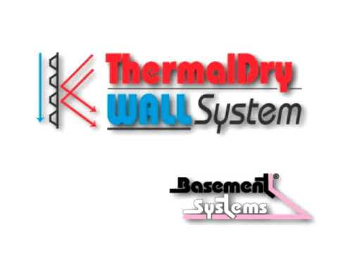 ThermalDry Wall Systems for basement walls.