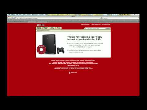 how to use netflix insatant streaming on the ps3 official not through a media server