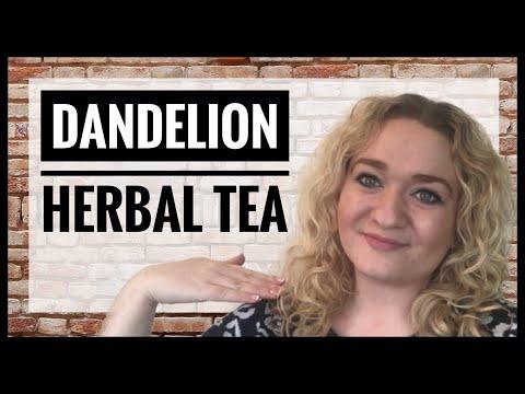 How To Make Dandelion Herbal Tea - Foraged Dandelion Roots Flowers and Leaves - Herbal Tea DIY