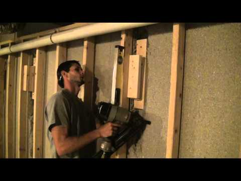 Wood Blocking Installation - Special Wall Framing Situations
