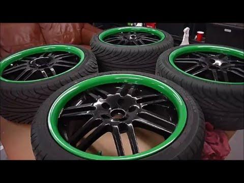 Paint Your Wheels DIY