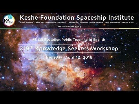 219th Knowledge Seekers Workshop - Apr 12, 2018