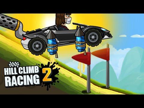 Lambo In Long Jump Event Hill Climb Racing 2