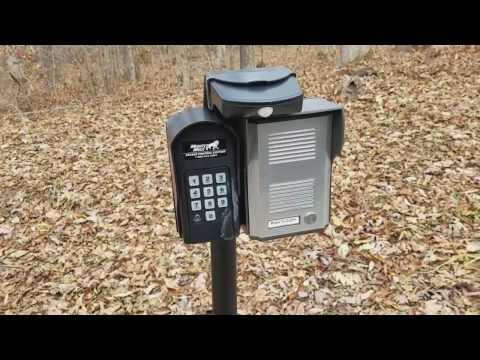 DIY Cheap Remote Gate Access Control and GSM Intercom System