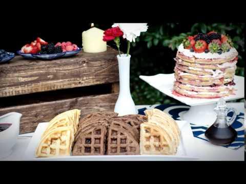 Creating a Waffle Bar / Pensacola Wedding Planner
