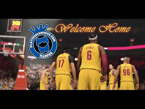 LeBron James | Coming Home | NBA 2k Style | @NBA2K