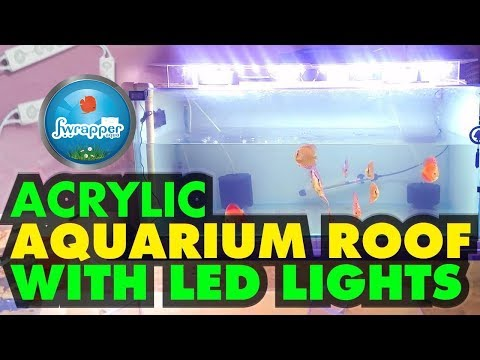 CHEAP LED Aquarium Light | Fish Tank Lighting | Aquarium Acrylic Roof | Discus Fish Tank