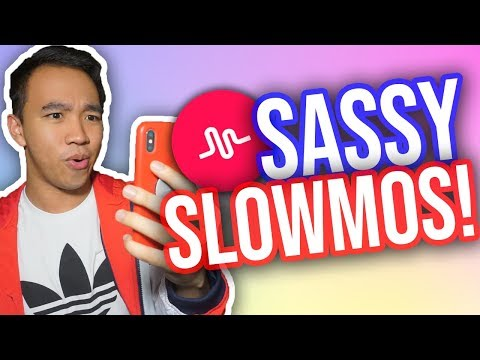 HOW TO MAKE SLOWMO EDITS ON MUSICAL.LY! #SassWars (Flash, Flickering + MORE!)