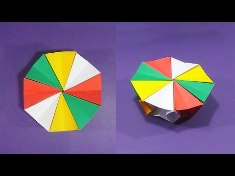 How To Make An Origami Magic Circle | Very Easy And Simple Steps |