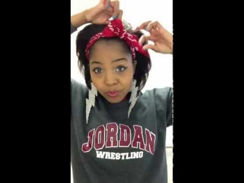How To Tie a Bandana Bow