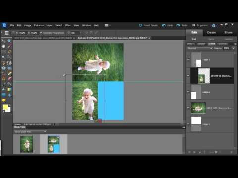 Print Multiple Photos on a 4x6 in Photoshop Elements