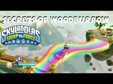 Skylanders Swap Force - Secrets of Woodburrow (Achievements, Trophies, Secret Items)