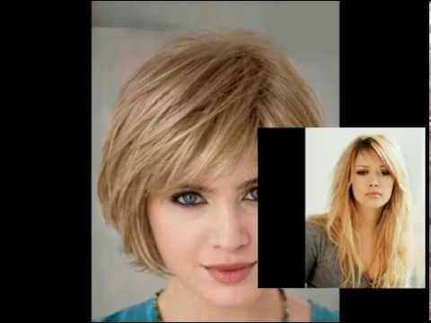 Layered Hairstyles With Bangs For Round Faces । Layered Hairstyles With Bangs