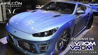Halcon Supersport | Dubai Intl. Motor Show 2015 جناح الهالكون سوبرسبورت | معرض دبى الدولى للسيارات