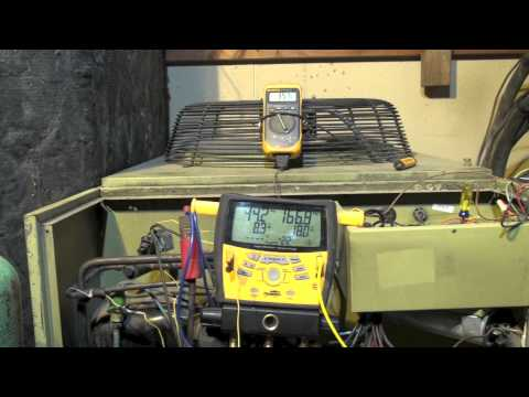 Charging the heat pump by superheat in winter, part 3