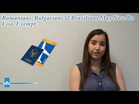 Romanians, Bulgarians and Brazilians May Now Be Visa Exempt