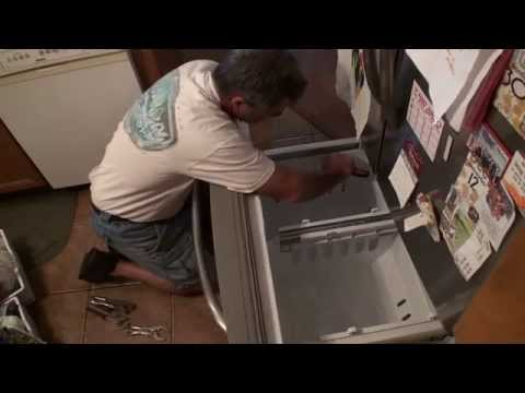 Removing the Freezer drawer on a Magtag Refrigerator