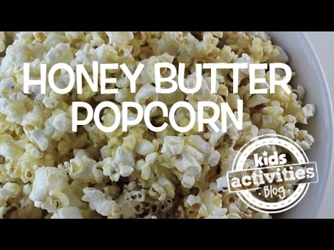 Honey Butter Popcorn Recipe