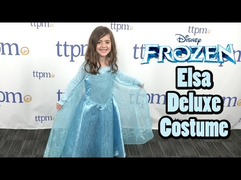 Elsa Deluxe Costume with Light-Up Bracelet from The Disney Store