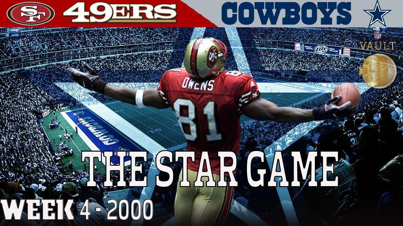 The T.O. Star Game (49ers vs. Cowboys, 2000)   NFL Vault Highlights