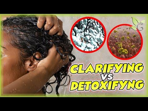 Clarifying -vs- Detoxifying your natural hair