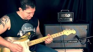 Review Do Amplificador Valvulado Sollo Mini 8 Da Sollo Amps - Canal Clean