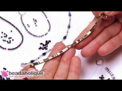Show & Tell: Tiny Hematite Beads