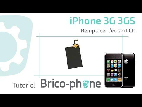 Tutoriel Changement écran LCD iphone 3G 3GS