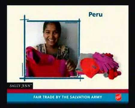 Fair trade by The Salvation Army