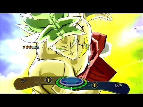 Dragon Ball Z Budokai 3 HD - Broly vs Omega Shenron