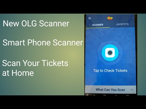 New OLG Lottery App | Smart Phone Lottery Ticket Scanner | Scan your Tickets at Home