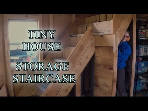 Tiny House Storage Staircase