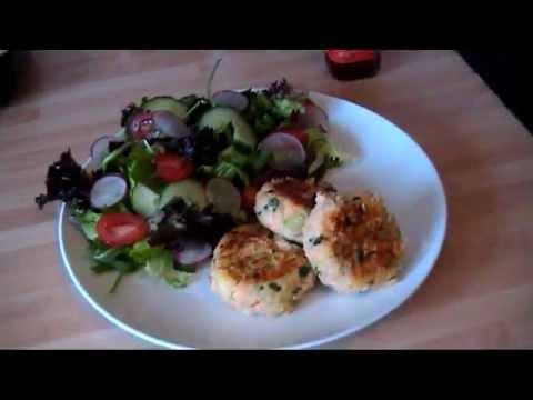 Thai Salmon Fishcakes Made Healthy