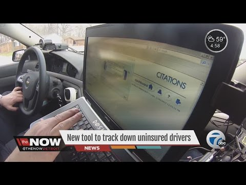 New tool to track uninsured drivers