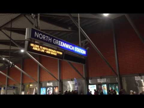North Greenwich Underground Tube Station - Jubilee Line