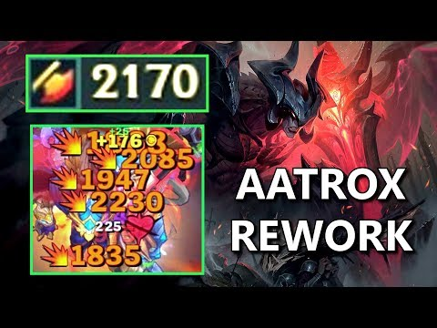 2170 ATTACK DAMAGE AATROX Rework Aatrox Damage Test,VC4IH