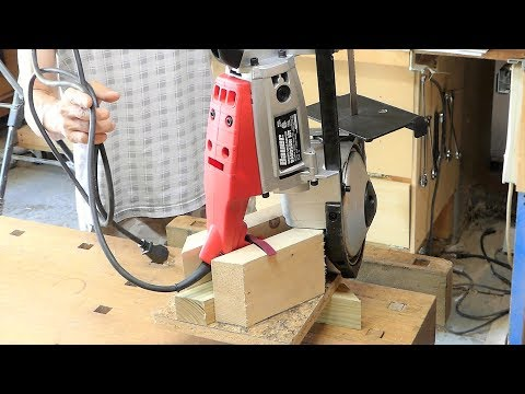 Make a  portable band saw stand (VERY SIMPLE)